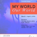 My World, Our World, Mar 2016
