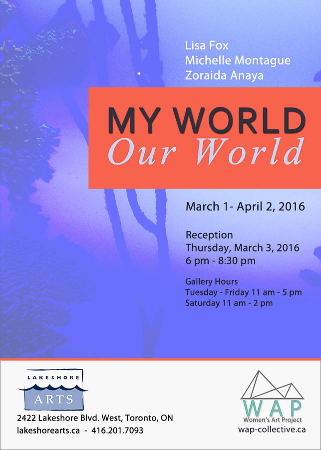 My World, Our World, Mar 2016