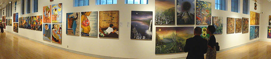 Royal Ontario Museum, From The Soul, exhibition, June 2010