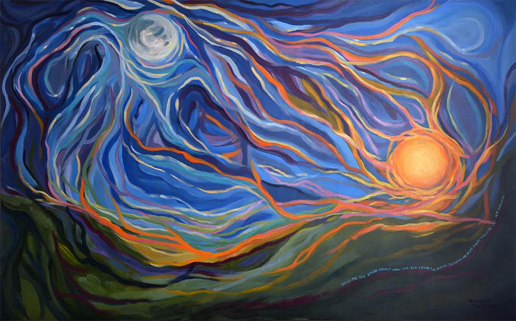 Celestial Dance - by Michelle Montague